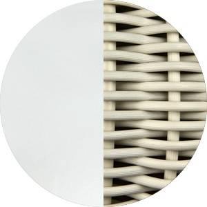 Blanco Roto - Pantalla Blanco Marfil